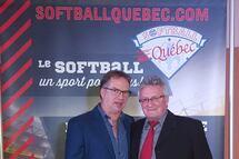 Intronisation de Jean-Claude Jr Thibeault et Marc-André Carreau au Temple de la Renommée de Softball Québec