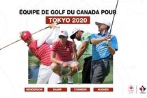 DÉVOILEMENT DE L'ÉQUIPE DE GOLF DU CANADA POUR LES JEUX DE TOKYO 2020