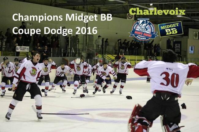Les Sénateurs, champions de la Coupe Dodge Midget BB