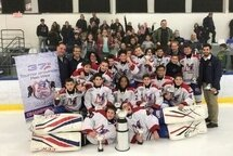 PeeWee AAA National de Montreal - Champion à Repentigny!