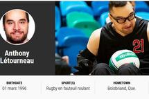 Anthony Létourneau au Jeux Paralumpiques de Tokyo