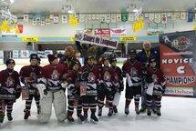 Les Sieurs 4 Novice C remportent le tournoi de Delson!!