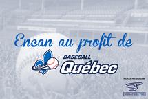 Encan au profit de Baseball Québec