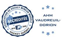 L'AHM modèle de Vaudreuil-Dorion: progression et dévouement