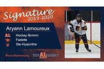 Aryann Lamoureux - photo gracieuseté de l'athlète