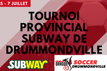 Tournoi Provincial Subway 2019