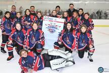 Atome C - Pionnières de Lanaudière - Finalistes au tournoi provincial Atome de Laval