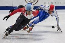 Jordan Pierres-Gilles, de Sherbrooke, sera l'un des patineurs à surveiller lors de la deuxième compétition du Circuit Élite de la saison 2018-2019!  — Photo Claude Rochon