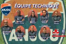 FC Anjou - ÉQUIPE TECHNIQUE