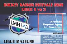 Période d'inscription est maintenant lancée pour la saison estivale LMH 3 vs 3 2021