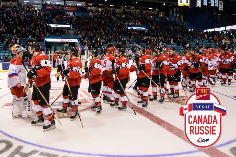 Aperçu de la Série Canada-Russie CIBC 2018