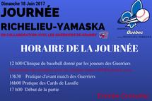 Journée Richelieu-Yamaska le 18 juin à Granby