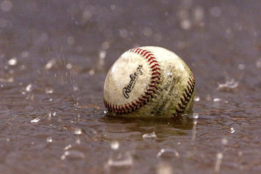 Atom and Moustique baseball cancelled for Saturday (May 8)