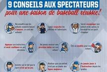 9 conseils aux spectateurs pour une saison de baseball réussie