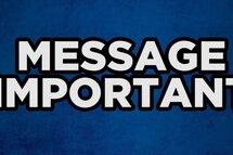 Message pour les entraîneurs