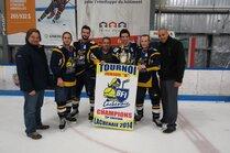 Jr B Chevaliers de Lachenaie - bannière champions