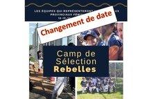 Camps de sélection des Rebelles de Montréal 2019