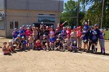 Plus de 600 ont participé à la tournée du baseball féminin 2019