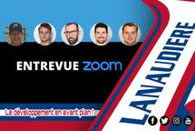 Entrevue vedette Zoom