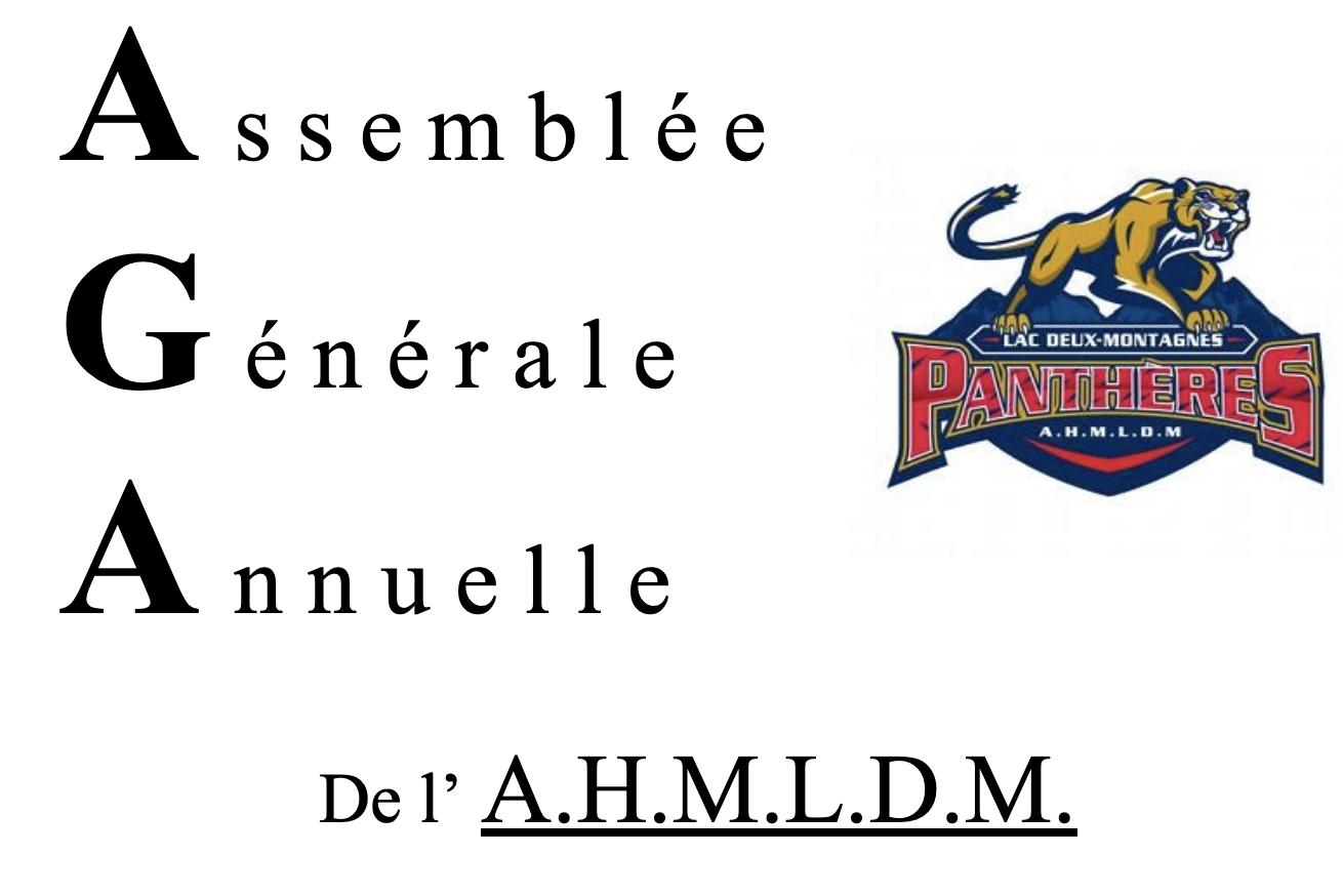 Assemblée générale annuelle 2021-21