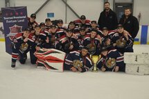 Champions Bantam AAA Les Grenadiers Lac St-Louis