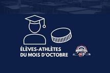 La Ligue midget AAA honore les 15 élèves-athlètes CCM du mois d'octobre