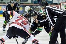 Les 3L et les Éperviers offrent aux amateurs du hockey relevé à chacune de leurs confrontations. (Photo courtoisie Les Éperviers de Sorel-Tracy)