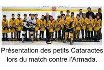 Le Pee-Wee AAA Estacades représente les Cataractes au tournoi Pee Wee de Québec !