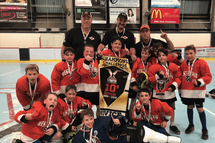 Novice team wins St Hubert Tourney!