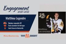 Matthieu Legendre - Crédit photo - Courtoisie de l'athlète