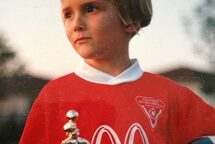 Lex Albrecht, as a young soccer player.