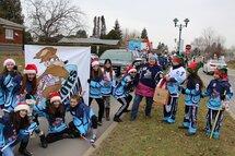 Bravo à nos bénévoles et Coyotes de la parade du Père Noël!!!
