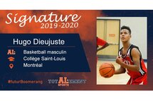 Hugo Dieujuste - Crédit photo - Courtoisie de l'athlète