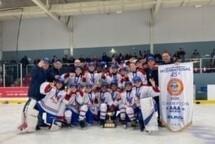 PeeWee AAA Relève - Champions à BSR Québec!!