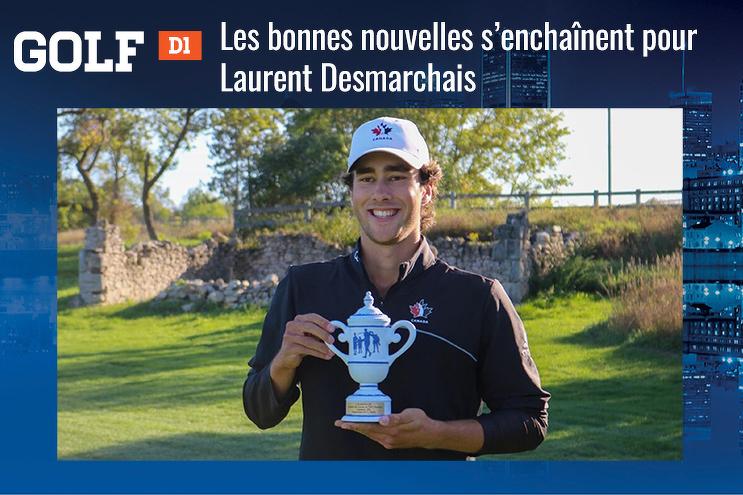 Les bonnes nouvelles s'enchaînent pour Laurent Desmarchais