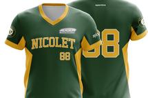 L'achat local rapporte! grâce à Auger automobiles, les baseball mineur de Nicolet a un nouveau chandail depuis l'été 2019. De la part de plus d'une centaine de jeunes joueurs, un grand merci à cette entreprise de Nicolet.l