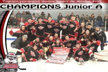 Champions Junior A- National Lorraine-Rosemère
