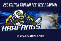 L'horaire du tournoi 2020 est disponible