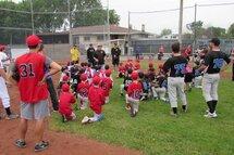Grand succès pour les cliniques de baseball des Pirates.