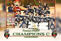 Pionniers Pee-Wee C, Champions Consolation du Tournoi TOM