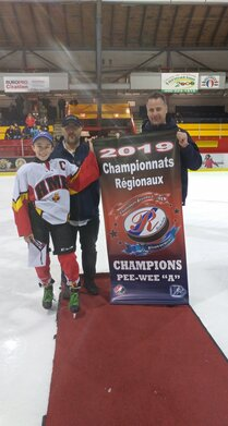 Champions Pee-wee A-Bannière