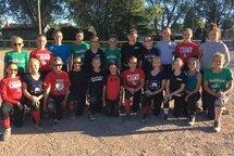Sélection de l'Académie U13 de Softball Québec pour la saison 2017-2018
