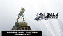 Les joueurs en nomination pour le Trophée Mario Lemieux