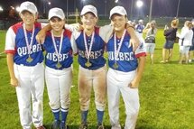 FOUR LSL GIRLS CANADIAN 16U CHAMPIONS