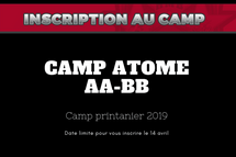 Camp Étoiles Atome AA-BB 2019