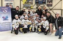 Régionaux: les grands honneurs aux Mighty Ducks atome!