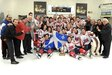 QJAAAHL  ST-LOUIS-LALIME ALL-STAR TEAM WON THE 2013 CENTRAL CANADA CUP