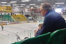 Mario Carrière, l'amoureux du hockey