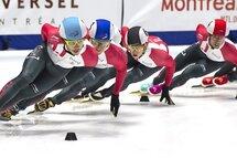 Samuel Girard couronné championnat canadien sur courte piste 2018! — Photo Claude Rochon