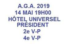 A.G.A. 2019 HOCKEY RIVIÈRE-DU-LOUP